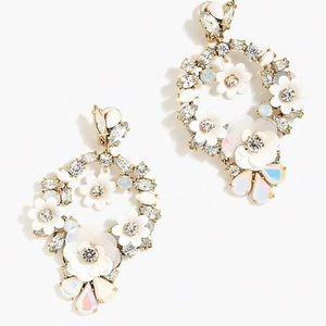 j crew | garden wreath earrings